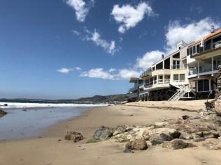 Beachfront properties in Malibu