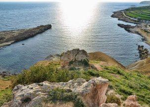 Ix-Xatt I-Ahmar Bay in Gozo