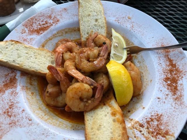 Silky BBQ shrimp