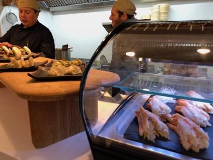Sushi stall