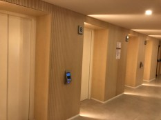 The lifts were high tech, you pressed which floor you wanted and a lift arrived just for you.