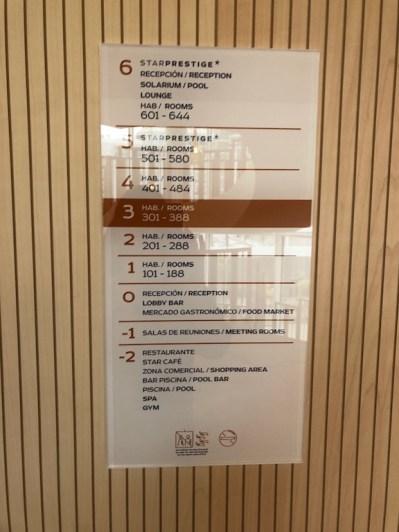 Floors 5 & 6 restricted to Star Prestige