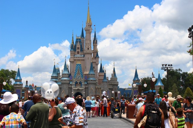 Orlando's amusement parks - Magic Kingdom
