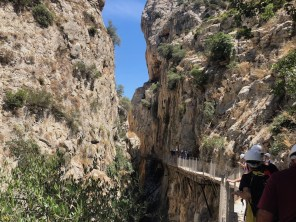 Caminito del Rey group north access