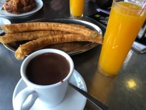 Churros for breakfast