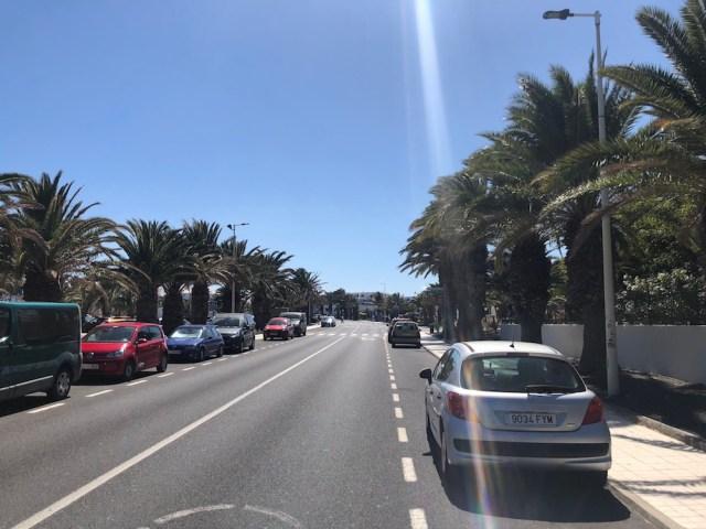 Road in Lanzarote