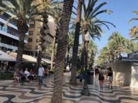 Paseo de la Explanada de España Alicante