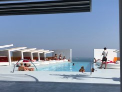 Rooftop Pool Bar Doubletree by Hilton Reserva Higueron