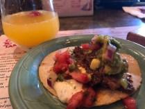 Tacos at Cafe Tu Tu Tango