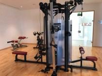 Lava Beach Hotel Gym Weights