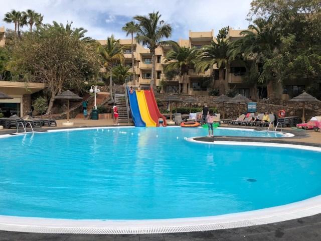 Occidental Lanzarote Mar pool & slides