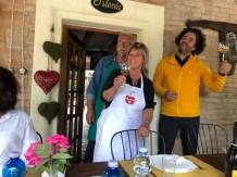 Mauro & Andra at La Buca