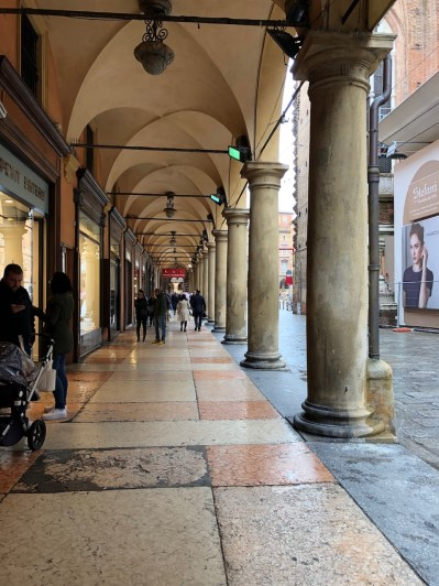 There are almost 40km of porticos in Bologna