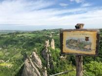 View from Roccamalatina