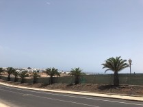 Yudaya SL building site Playa Blanca fenced off