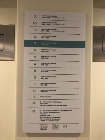 Lift directory