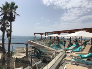 Lovely sea views can be enjoyed from your sunbed