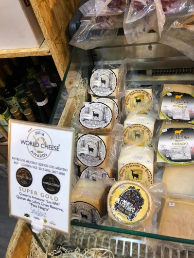 Award winning cheeses from Andalucia