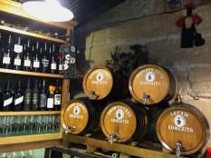 Sherry barrels in Jerez
