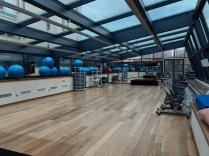 Fitness room for classes