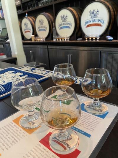 Rum tasting John Watlings Nassau