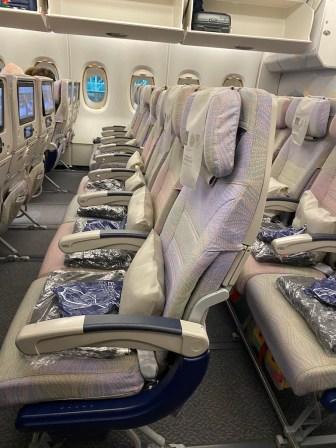 Emirates economy goody bags