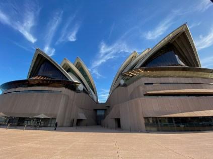 Rear of the Sydney Opera House