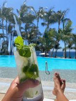 Mojito by the pool