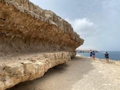 Impressive rock formation for selfies