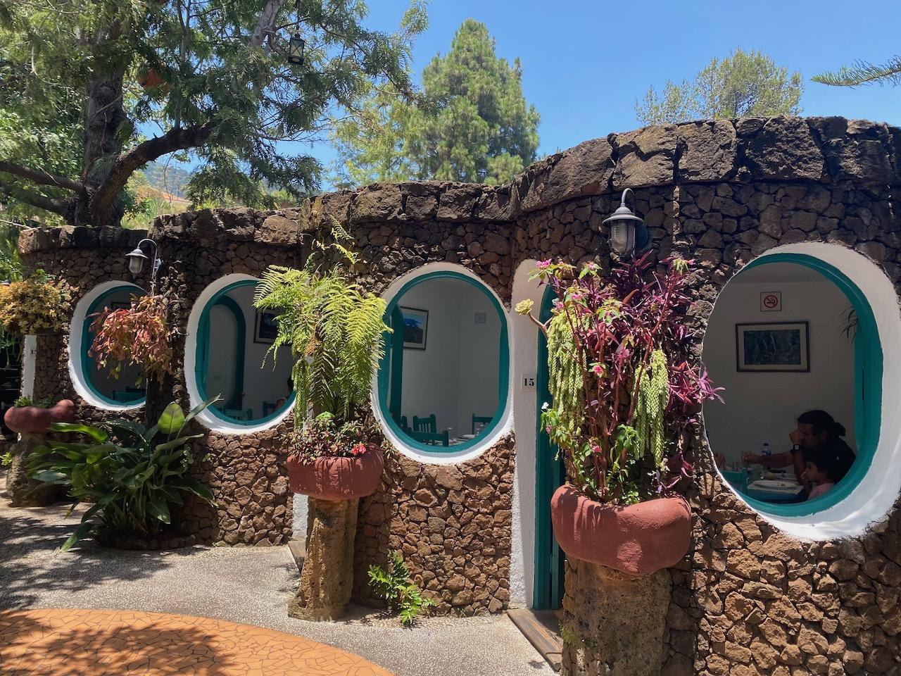 Unusual dining rooms at Chipi Chipi