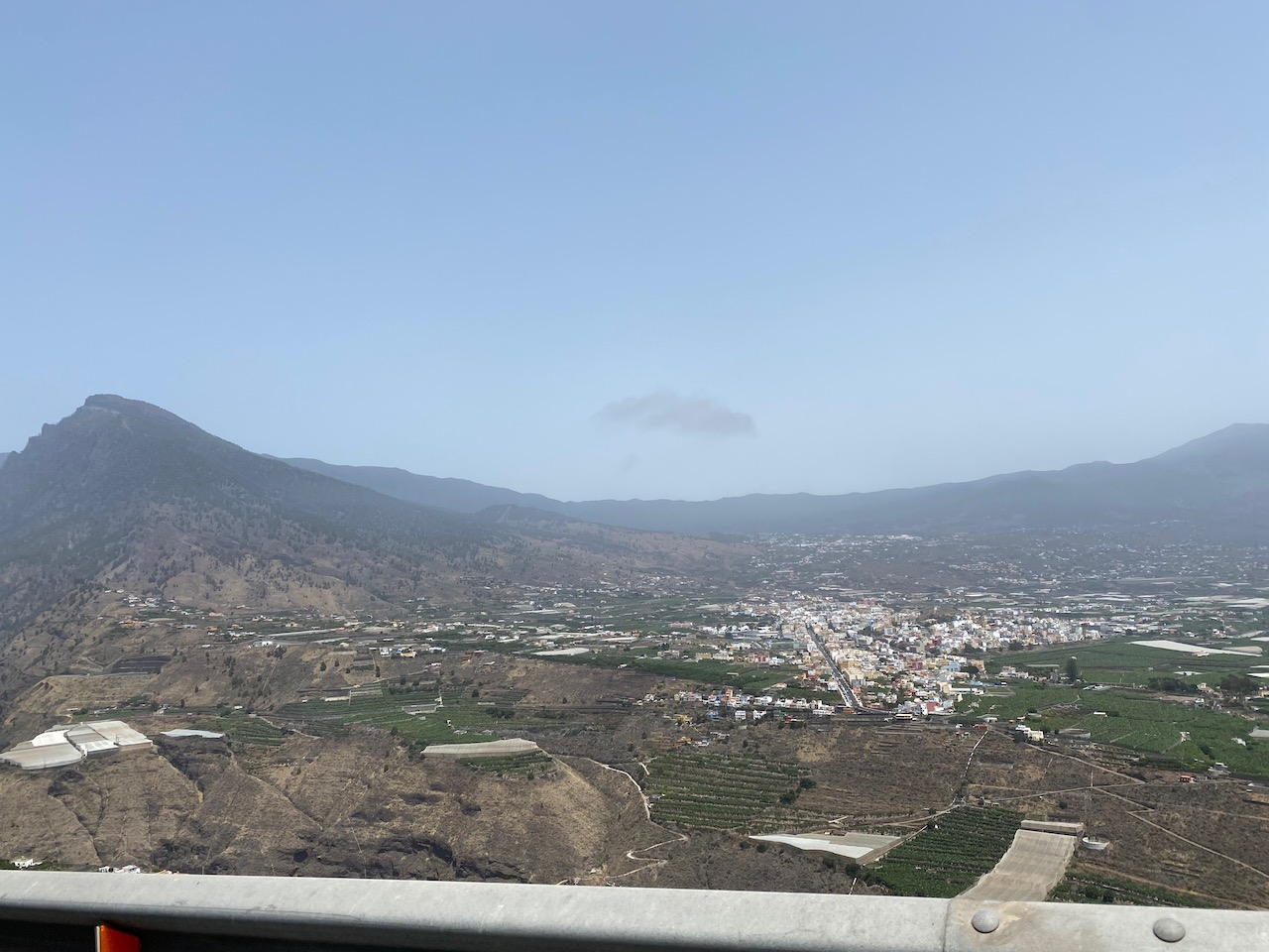 Descending into Tazacorte