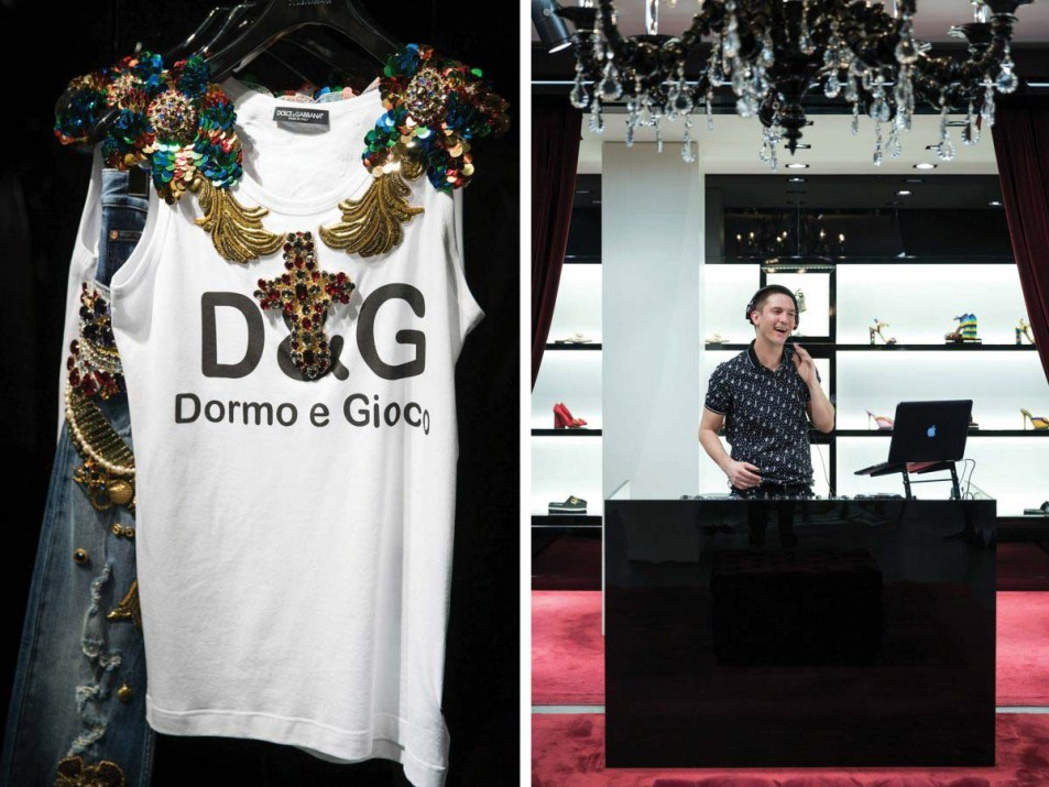 Event Photography by Cameo Photography London for Dolce & Gabbana 05