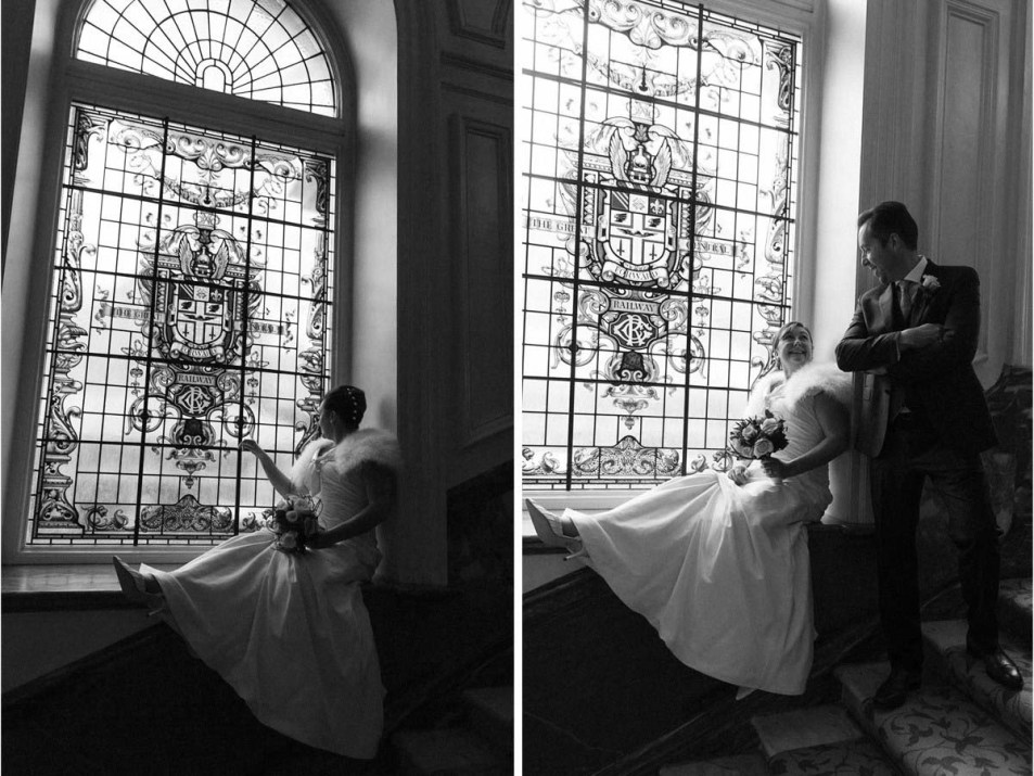 wedding photography london landmark hotel14