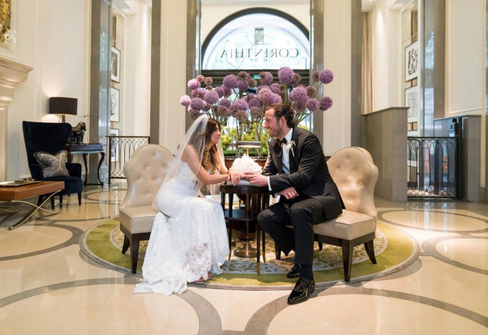 527 Lesley & Craig Wedding Photography at Corinthia Hotel London by Cameo Photography