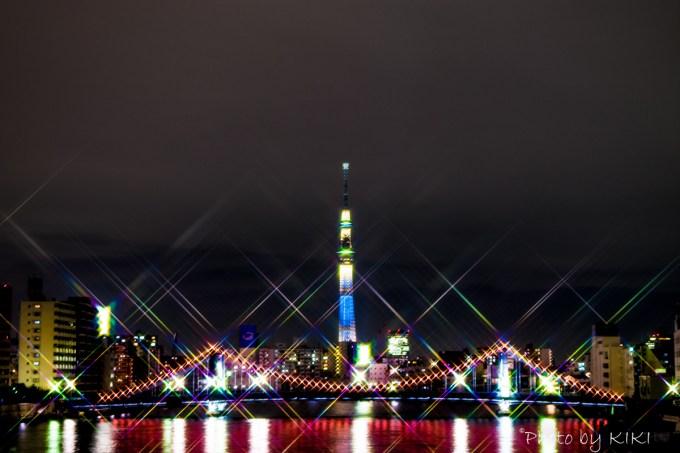 清澄橋夜景
