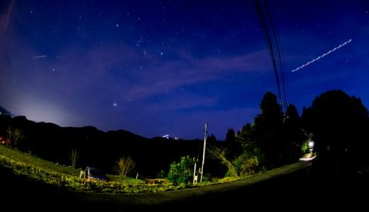 NikonD5300 輝く星空タイムラプスを撮ってみました