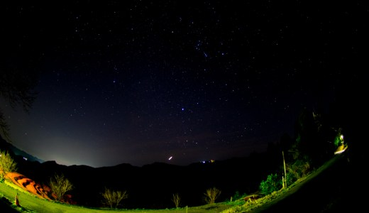 NikonD5300 フィッシュアイレンズで星空撮影