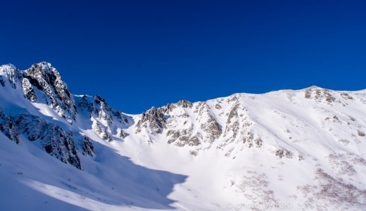 中央アルプス駒ヶ岳【千畳敷カール】雪山の撮影してみました