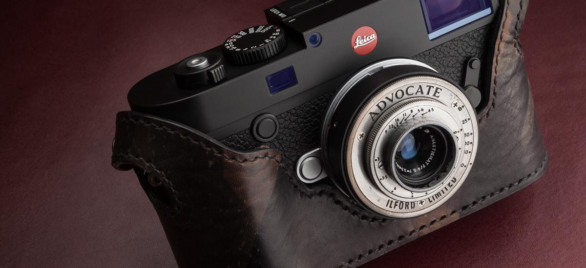 Kenji Leather Leica M10 Half case裏蓋という名の儀式的ロマン
