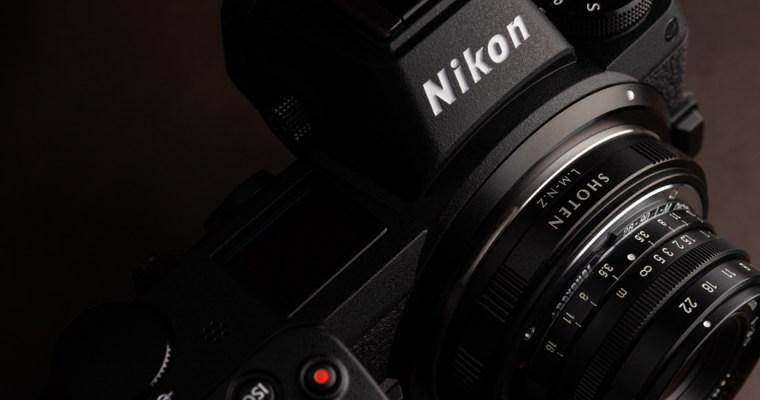 Nikon Z 7 and SHOTEN LM-NZ <br>ニコンZ 7と広角オールドレンズの相性
