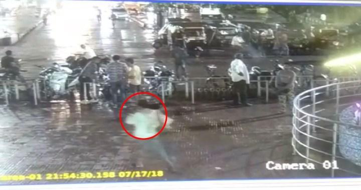 मासूम के साथ दुष्कर्म मामले में संदिग्ध की वीडियो फुटेज जारी हुई