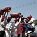 छिबरामऊ में महंगाई को लेकर सपा कार्यकर्ताओं ने किया विरोध प्रदर्शन
