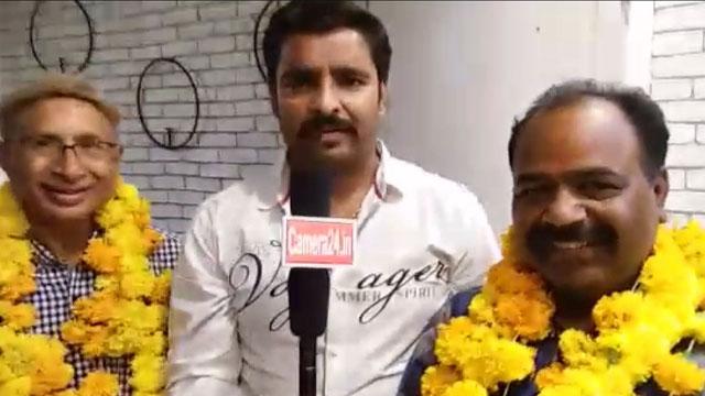 विदिशा समाजसेवी अतुल शाह और प्रेस फोटोग्राफर सीताराम मालवीय का जन्मदिन मनाया