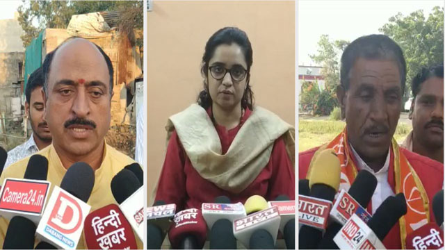 देपालपुर प्रत्याशियों ने नामांकन भरकर बजाया चुनावी बिगुल