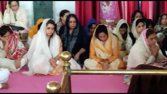 स्व.श्री सोहिल अरोरा की आत्म शांति हेतु अंतिम अरदास आयोजित