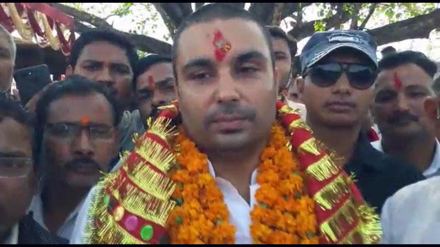 Congress Siddharth Tiwari