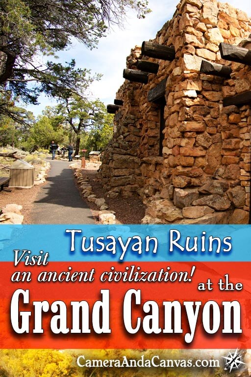 There's tons of things to see and do at the Grand Canyon South Rim! Check out Tusayan Ruins for instance. The Tusayan Ruins Museum is small but has a lot of displays and info on the Ancestral Puebloans that lived nearby. You can walk a small trail around the ruins that are left, including a small kiva! Located just off Desert View Drive. #GrandCanyon #Ruins #AncestralPuebloans