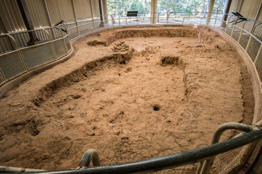 Pit House in Mesa Verde National Park