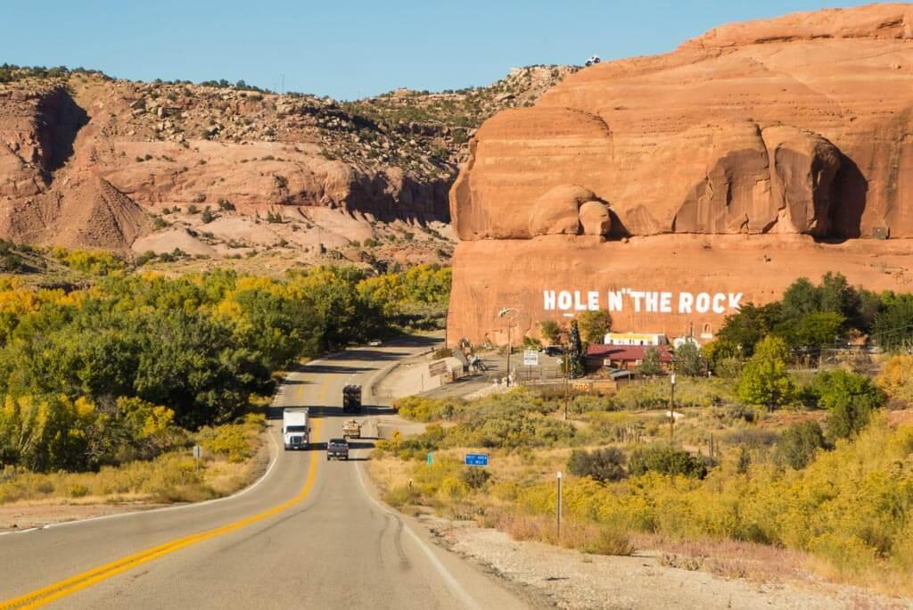 Hole N The Rock, Moab, Utah