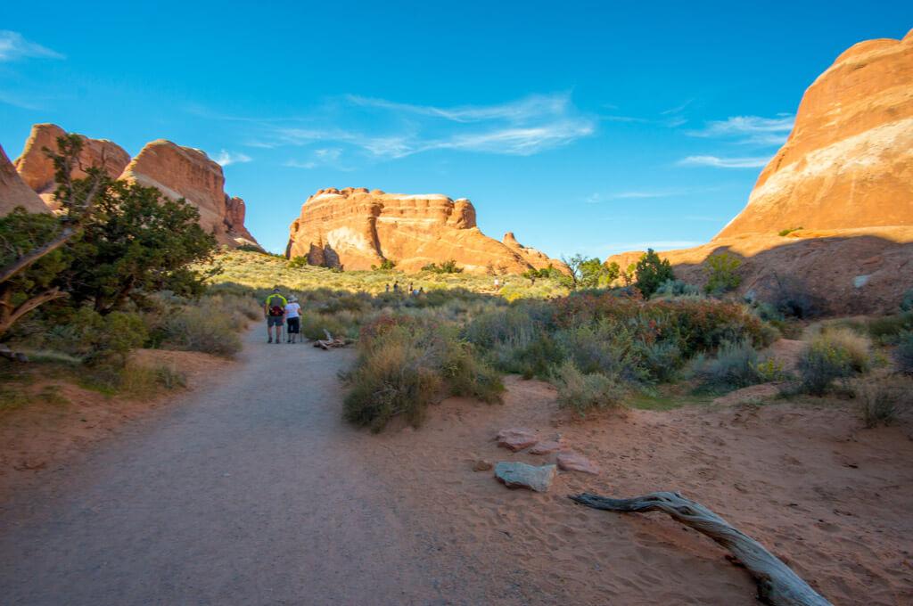 Arches National Park Devil's Garden Trails